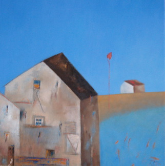 Artist: Kestutis Jauniskis - Title: Landscape 2 - Medium: Oil Painting - Year: 2011