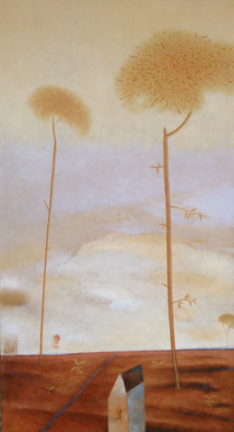 Artist: Kestutis Jauniskis - Title: Similarly Shaped - Medium: Oil Painting - Year: 2013