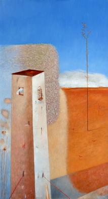 Artist: Kestutis Jauniskis - Title: The Road - Medium: Oil Painting - Year: 2013