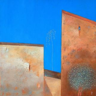 Artist: Kestutis Jauniskis - Title: Two Different Forms - Medium: Oil Painting - Year: 2014