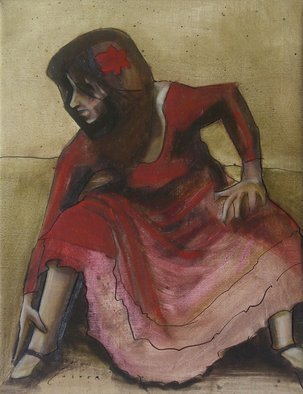 Kyle Foster: 'Basic Movement and Balance', 2008 Oil Painting, Dance.