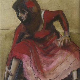 Kyle Foster Artwork Basic Movement and Balance, 2008 Oil Painting, Dance