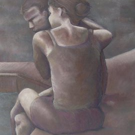 Kyle Foster: 'Comfort', 2008 Oil Painting, Figurative.