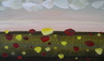 Artist: Kyle Foster, title: Distant Meadows, 2008, Painting Oil