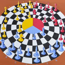 chess 3 bounce By Khosrow Mokori