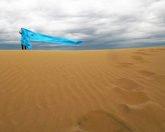 Color Photograph by Mir Kian Roshannia titled: Wind, 2008