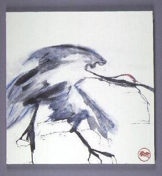 Undefined Medium by Kichung Lizee titled: Dancing Crane, 2003