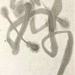 calligraphic dance By Kichung Lizee
