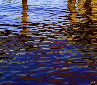 Greg Spohn: 'Reflections 3', 2007 Color Photograph, Abstract. Artist Description:    water, reflection, color, structure        ...