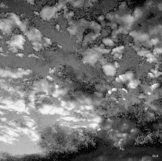 Greg Spohn: 'Sky', 2007 Black and White Photograph, Abstract Landscape. Artist Description:     clouds, sky, B& W, digital, abstract        ...