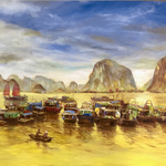 golden halong bay By Kim Anh