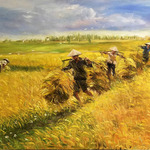 harvest time3 By Kim Anh