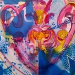 Abstract Heart By Kimmie Hamm