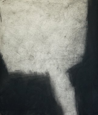 Abstract Charcoal Drawing by Douglas A. Kinsey Title: As If Things Were Less Spoken Of  2, created in 2012