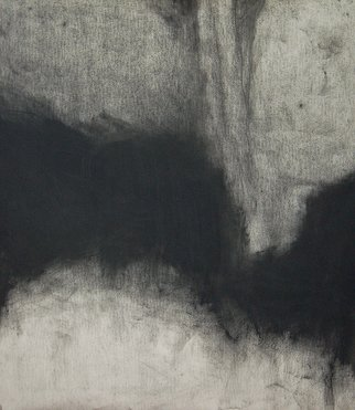 Abstract Charcoal Drawing by Douglas A. Kinsey Title: As If Things Were Less Spoken Of  3, created in 2012