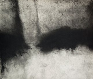Abstract Charcoal Drawing by Douglas A. Kinsey Title: As If Things Were Less Spoken Of  4, created in 2012
