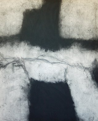 Abstract Charcoal Drawing by Douglas A. Kinsey Title: As If Things Were Less Spoken Of  5, created in 2012