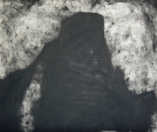 Artist: Douglas A. Kinsey - Title: Coal Mine 16 - Medium: Charcoal Drawing - Year: 2007