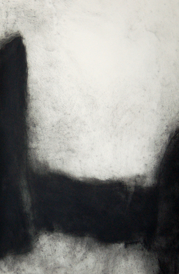 Abstract Charcoal Drawing by Douglas A. Kinsey Title: Riddle of The Chinese Ball 5, created in 2009