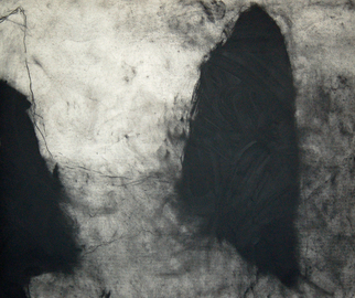 Artist: Douglas A. Kinsey - Title: The Other Map 11 - Medium: Charcoal Drawing - Year: 2008