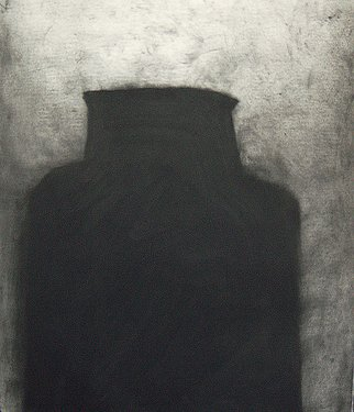 Artist: Douglas A. Kinsey - Title: Waking Into The Desert  Dream 41 - Medium: Charcoal Drawing - Year: 2011