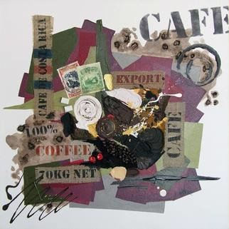 Vasco Kirov Artwork cafe collage m2, 2017 Collage, Abstract