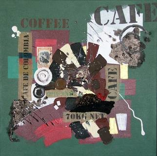 Vasco Kirov Artwork cafe collage m3, 2017 Collage, Abstract