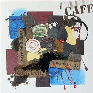 Vasco Kirov Artwork cafe collage s1, 2015 Collage, Abstract