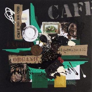 Vasco Kirov Artwork cafe collage s3, 2015 Collage, Abstract