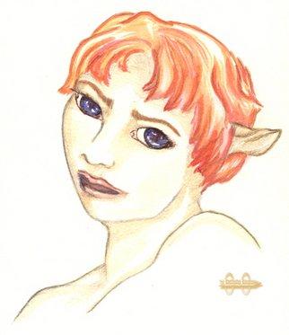 Tanja Dorosh Artwork Red Hair, 2008 ,
