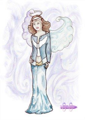 Tanja Dorosh Artwork Teen blueangel, 2008 ,