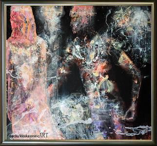 Ovidiu Kloska Artwork The dew collects Composition 13, 2015 The dew collects Composition 13, Romance