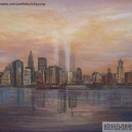 Towers Of Light New York, Katalin Luczay