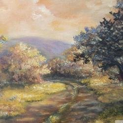 , A Path In The Woods New J, Impressionism, $368
