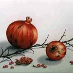 pomegranates By Thomai Kontou