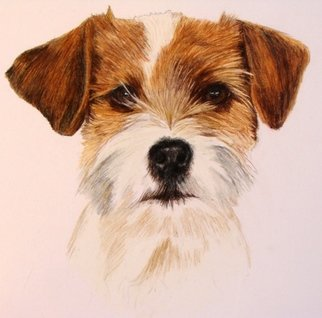 Diane Kopczeski Artwork Benny, 2009 Pencil Drawing, Dogs
