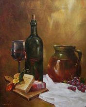 - artwork Good_appetite-1357466002.jpg - 2012, Painting Oil, Still Life