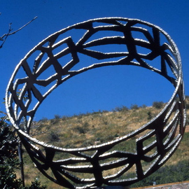 Ivan Kosta Artwork A Bracelet For Her, 2006 Steel Sculpture, Abstract