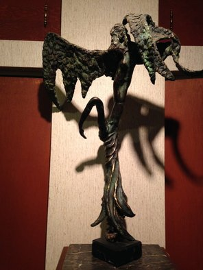 Ivan Kosta Artwork Angel Ascending, 2016 Bronze Sculpture, Biblical