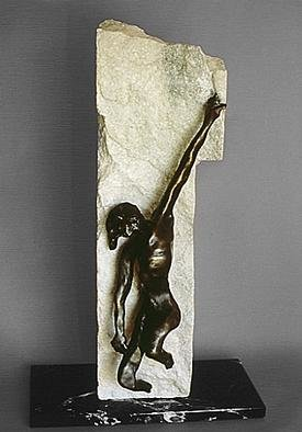 Bronze Sculpture by Ivan Kosta titled: Ecce Homo, created in 1998