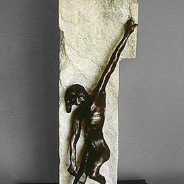 Ivan Kosta: 'Ecce Homo', 1998 Bronze Sculpture, Figurative. Artist Description: This piece of