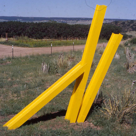 Ivan Kosta: 'K', 2000 Steel Sculpture, Geometric. Artist Description:   The letter K  ...