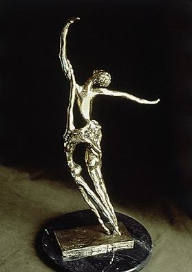 Bronze Sculpture by Ivan Kosta titled: Pas de Deux, created in 1998