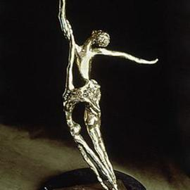 Ivan Kosta: 'Pas de Deux', 1998 Bronze Sculpture, Figurative. Artist Description: A polished bronze ballet movement for two.Pas de deux - is french. Decadent and pioneer.Connoisseur and ignorant.Pas de deux - Oui? No?Go solo or Pas de deux,Oh, Mon Dieu!Pas de deux, says it for twoin gentle embrace, soft twirl,bodies of grace,emanate ...