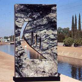 Ivan Kosta Artwork Perspectives, 2006 Stone Sculpture, Abstract