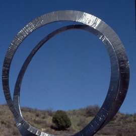 Ivan Kosta Artwork Pour Toujours, 1999 Steel Sculpture, Abstract