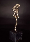 Bronze Sculpture by Ivan Kosta titled: Primavera, created in 1996