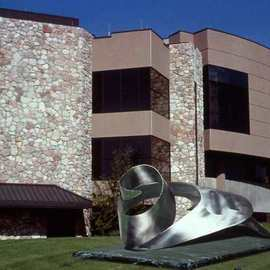 Ivan Kosta Artwork Safe Harbor, 1997 Steel Sculpture, Abstract