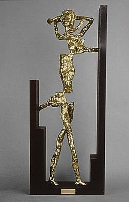 Bronze Sculpture by Ivan Kosta titled: Torn, created in 1994