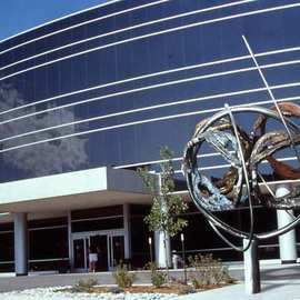 Ivan Kosta Artwork Wellness Globe, 2002 Steel Sculpture, Abstract